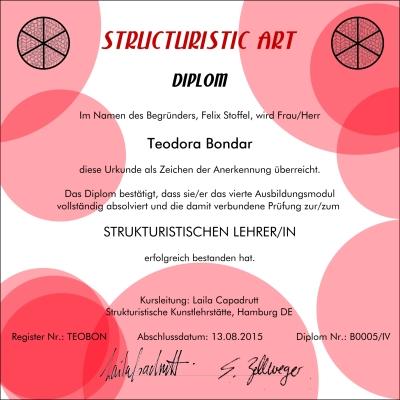 Diplom Teodora Bondar