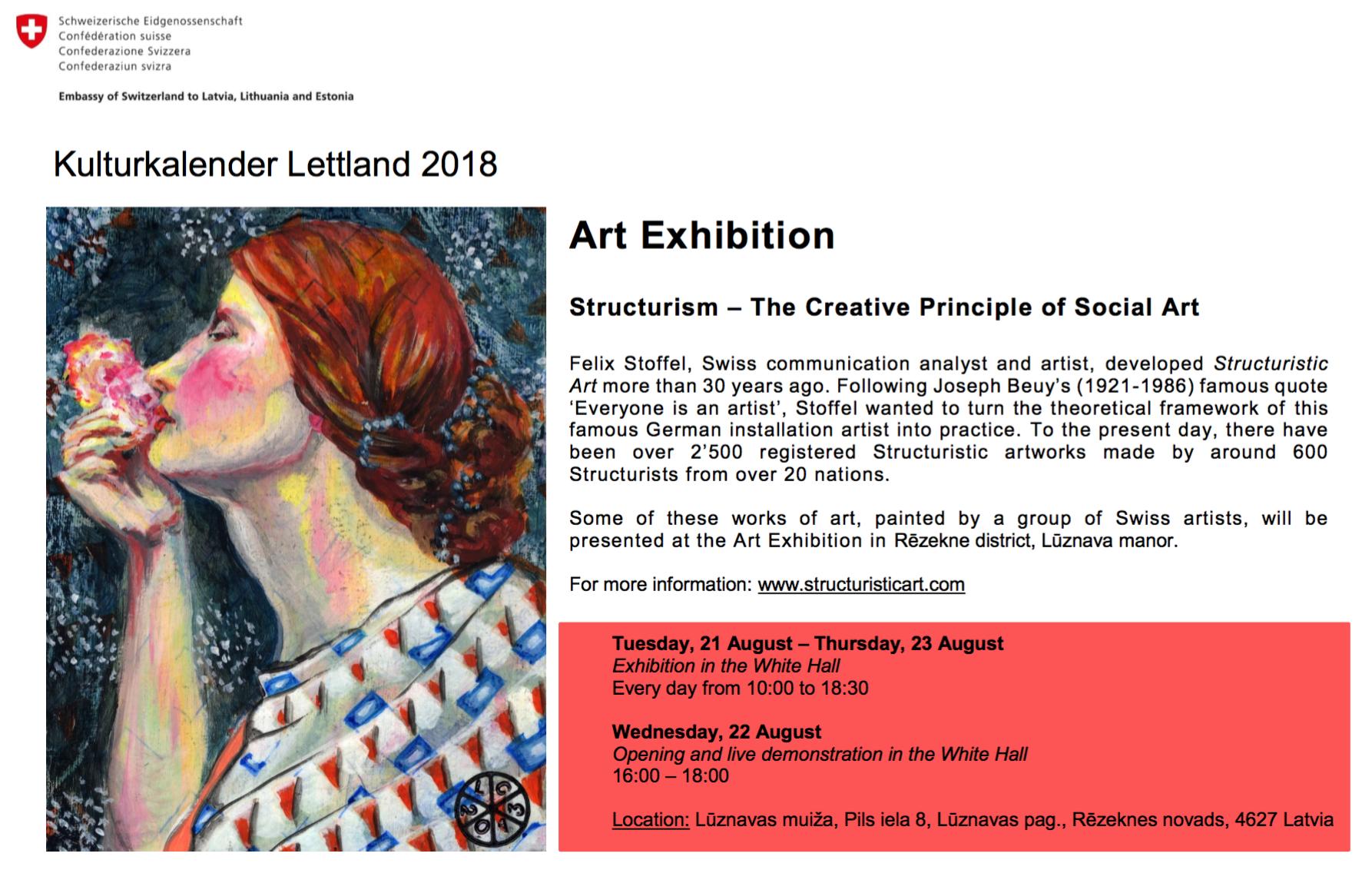 Events @en | Structuristic Art